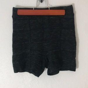 Free People Spun High Waisted knit shorts